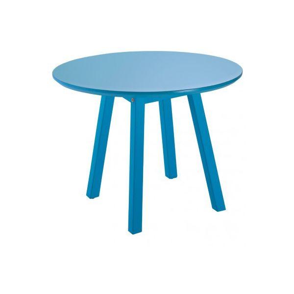 Mesa Lateral Oval  051 Azul Tramontina