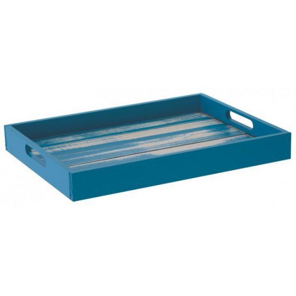 Bandeja Rustica Color Azul Tramontina