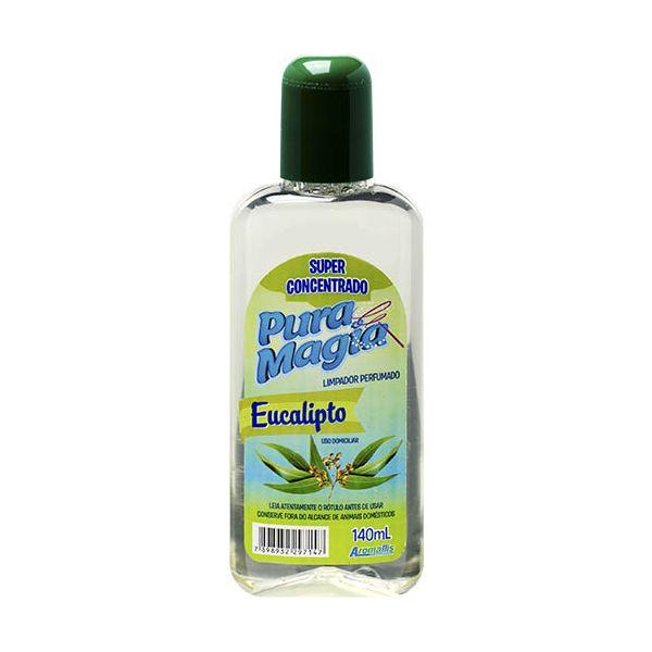 Limpador Perfumado Concentrado 140ml Eucalipto Aromallis