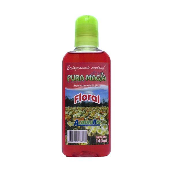 Limpador Perfumado Concentrado 140ml Floral Aromallis