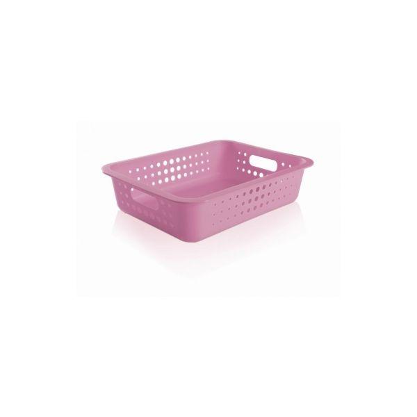 Caixa Organizadora Grande Baixa Rosa