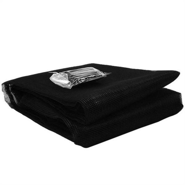 Tela Mosq Velcro 1,25X1,25  Preta