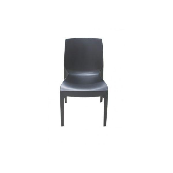 Cadeira Alice Satinada Preta Tramontina