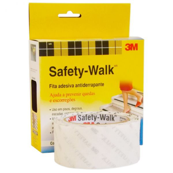 Fita Antid Safety Walk Transp 50mm X 5m  Transparen