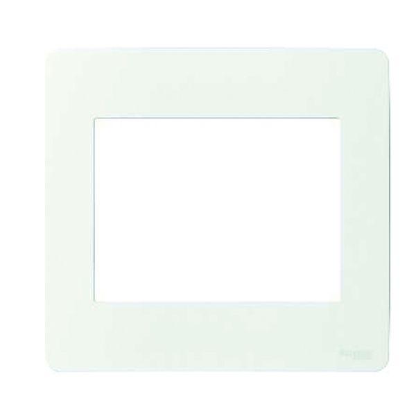 Placa 4x4 6 Postos  Orion  Branca
