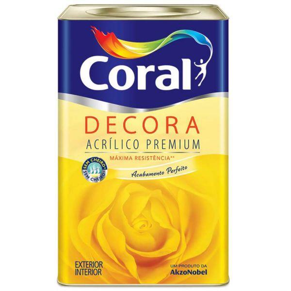 Tinta Novo Decora Fosco 18 litros Palha Coral