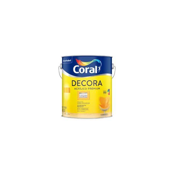 Tinta Novo Decora Semibrilho 3,6 litros Branca Coral