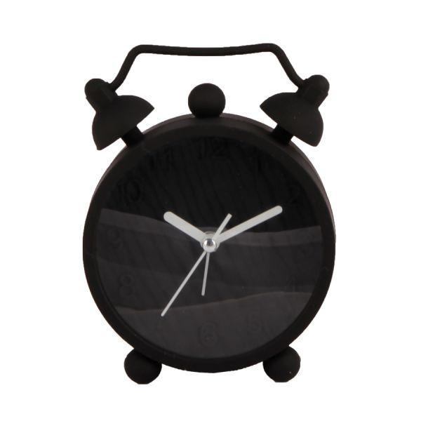 Relógio de Mesa Silicone GL005 Preto Kobe