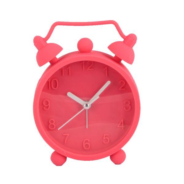 Relógio de Mesa Silicone GL005 Rosa Kobe