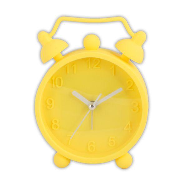 Relógio de Mesa Silicone GL005 Amarelo Kobe