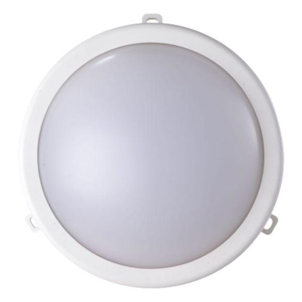 Luminária Tartaruga Led Redonda 7.5w 6500k Branca Ecoforce