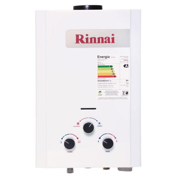 Aquecedor 7,5 Litros GN REUM07 Rinnai
