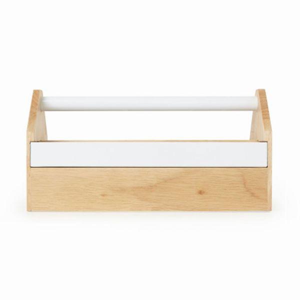Caixa Organizadora Toto 290240-668  Natural|Branco Umbra