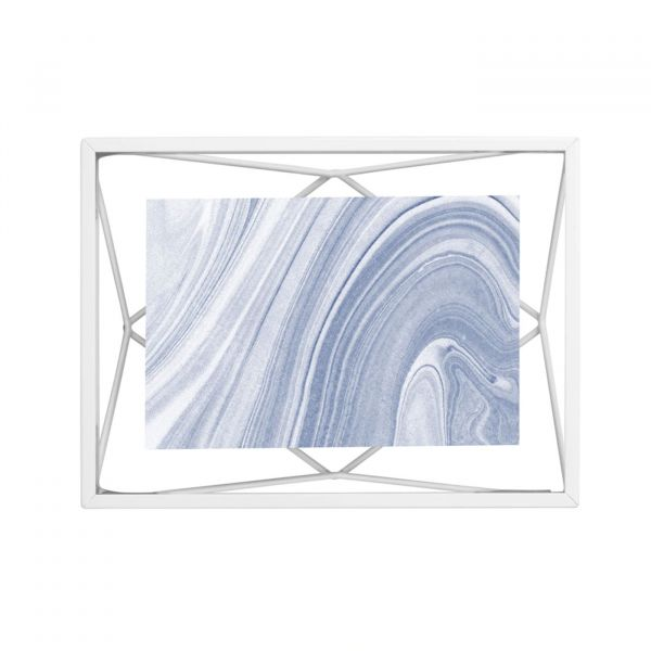 Porta Retrato Prisma 10x15 313016-660 Branco Umbra