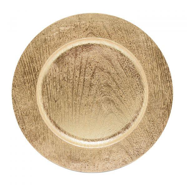 Sousplat Madel 33cm SP13710 Dourado Mimo