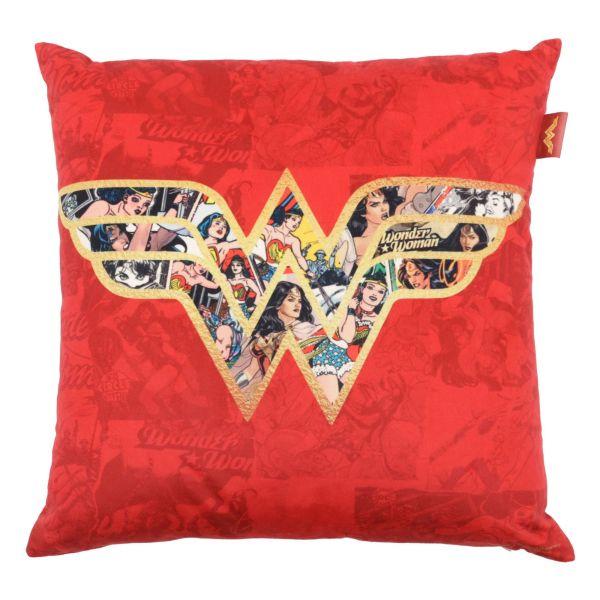 Capa Almofada Logo WT Comics 45x45 Vermelho Urban