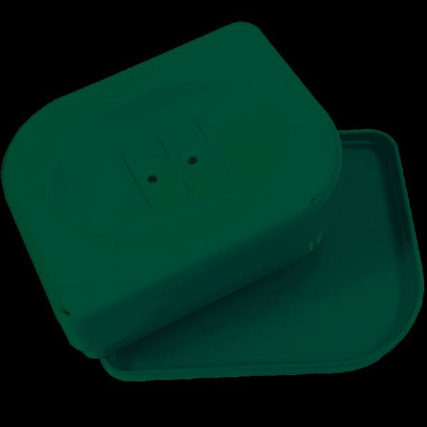 Saboneteira Pétala Sbp414  Verde Menta Martiplast