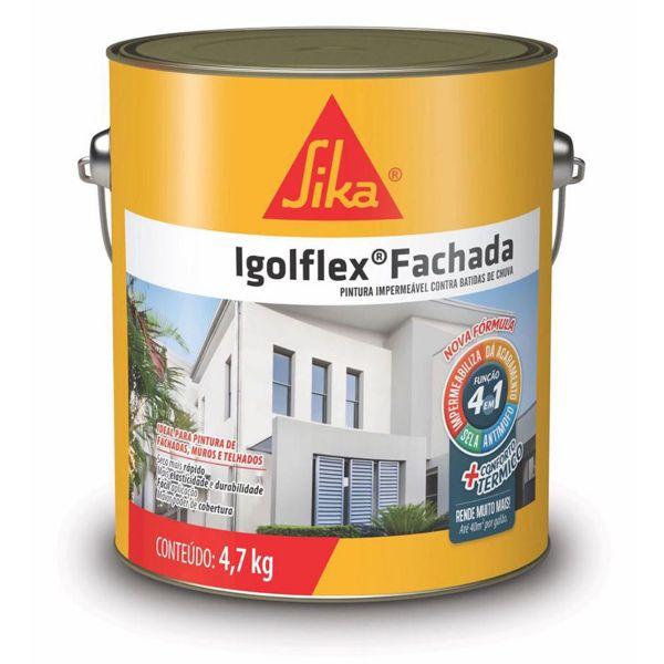 Impermeabilizante IgolFlex Fachada 4.7KG Sika