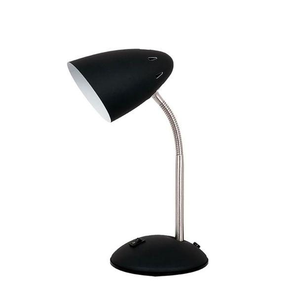 Luminária de Mesa 1xE27 40W Metal Preto Quality