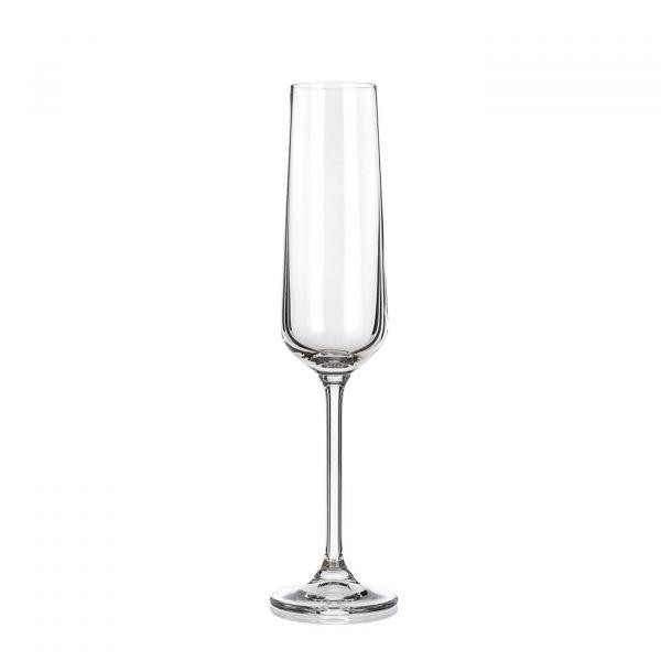 Taça Flauta Lauren Titanio 200ml  Incolor Banquet