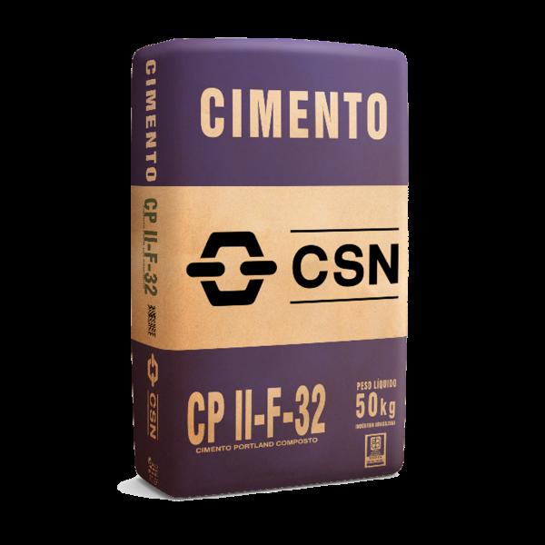 Cimento CPII F-32 50Kg CSN