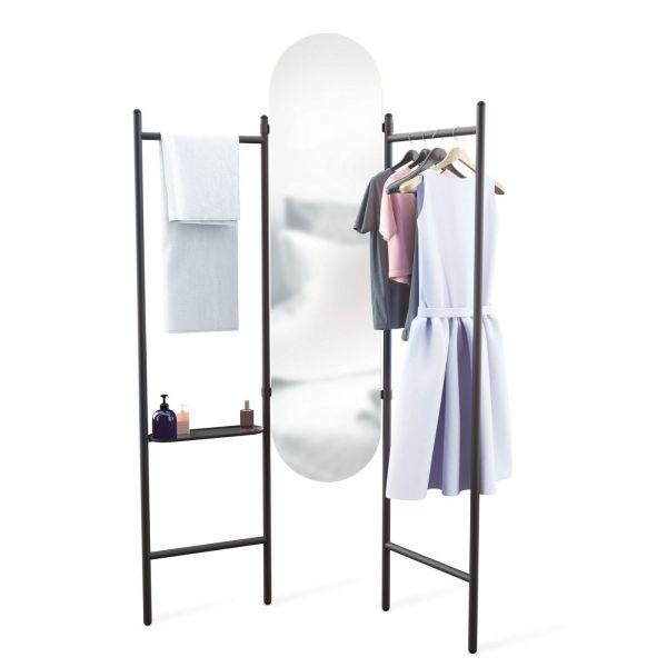 Espelho Chão Valla 1009611-040  Preto Umbra