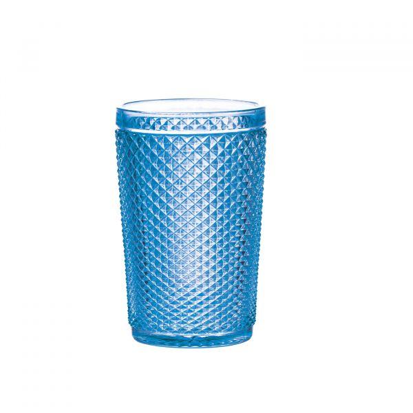 Conjunto Copo Alto Bico Jaca 6pç 25884 355ml Azul Bon gourmet