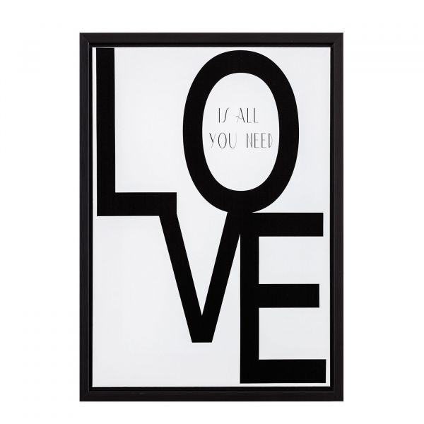 Quadro Canvas You Need Love 7899 40x50cm Love Mart Presentes
