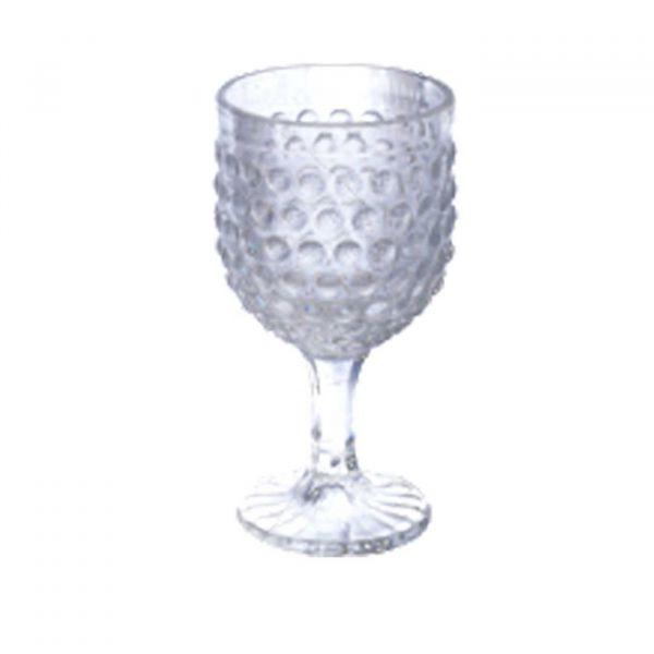 Conjunto 6 Taças Para Água De Vidro Bubble 360ml