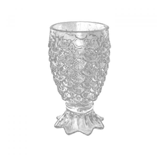 Conjunto 6 Taças Para Água de Vidro Pineapple 200ml Lyor