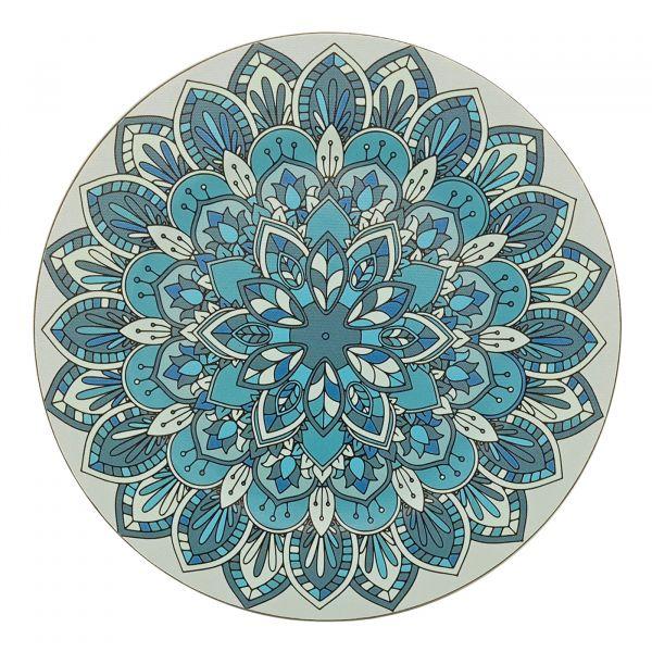 Sousplat Samadhi 33cm SP1839 Azul Mimo
