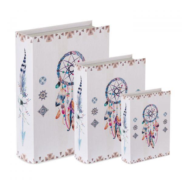 Livro Decorativo 09172-3 Grande Estampado Sonhos Mart Presentes