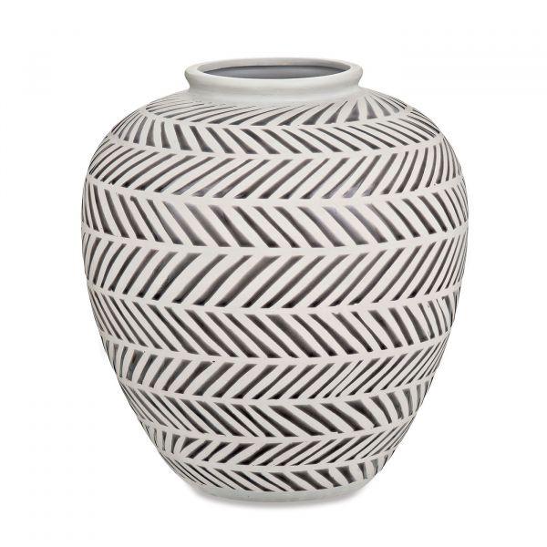 Vaso Cerâmica 08569 28,5x26,5 Mart Presentes