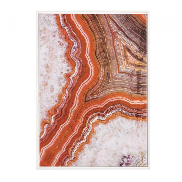 Quadro Canvas Abstrato 10097-1 50x70cm Madeira Mart Presentes