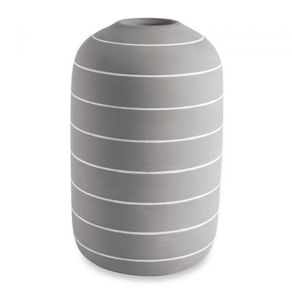 Vaso Cimento 10943 25cm  Cinza Mart Presentes