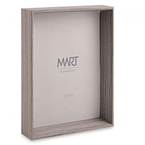 Porta Retrato Mdf 15x20 11247  Cinza Mart Presentes