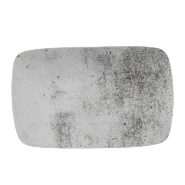 Bandeja Retangular Concreto 24cm  Cinza Schmidt