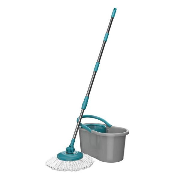 Mop Giratório Fit 5010 Flash Limp Cinza Byhaus