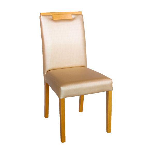 Cadeira Ubatuba Ii 7740 Tec 151a  Amêndoa Nacional Famor