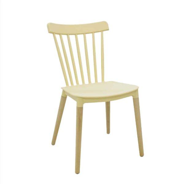 Cadeira Janaina 36504754 Amarelo Rivatti
