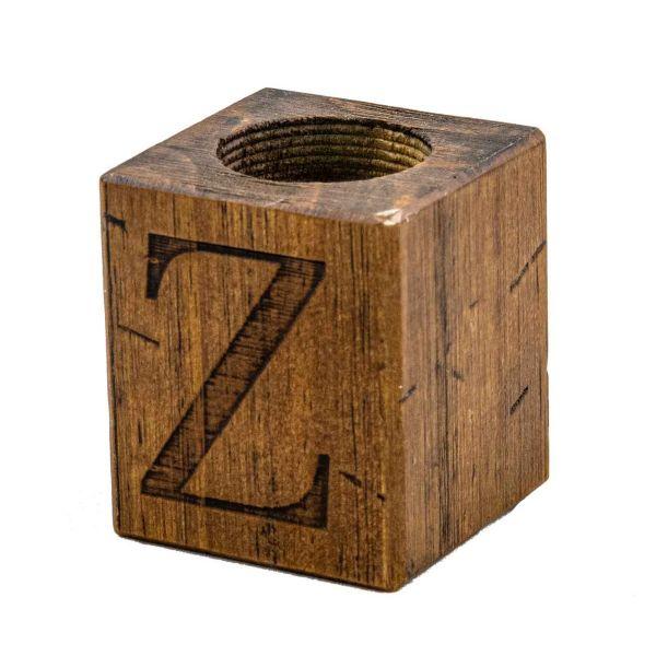 Castiçal Industrial Cubo Z Rustic Brown Renar