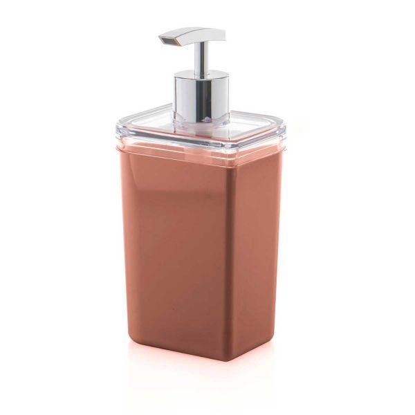Porta Sabonete Liquido Pétala Psp413 Terracota