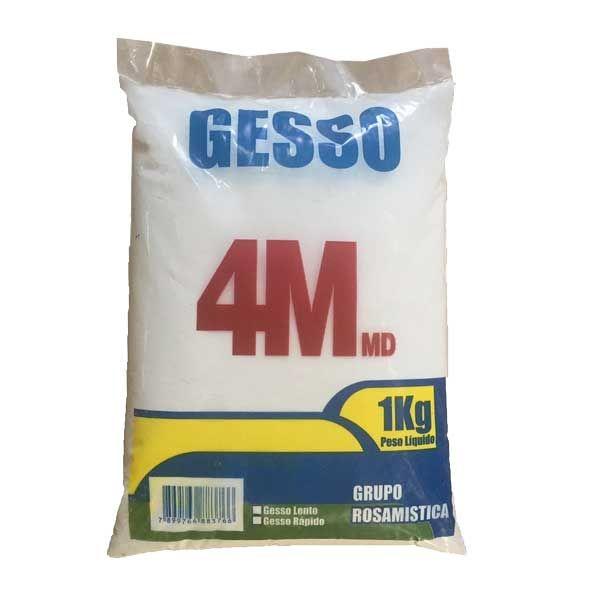 Gesso em Pó Secagem Rápida 1kg 4mmd Minerais
