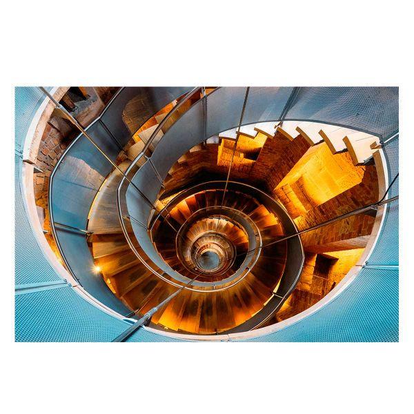 Quadro Escada Espiral Jmy-184045 40x60cm  Estampado Kobe