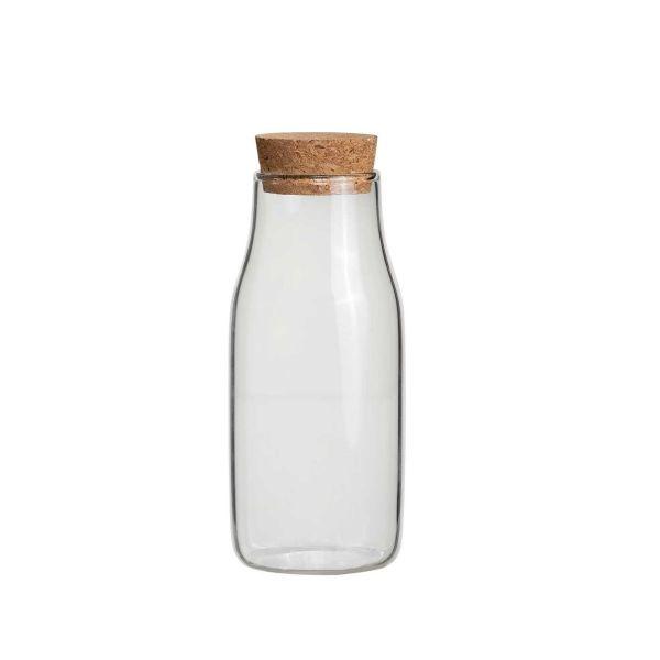 Jarra Com Tampa Bottle 811700082 6x15cm  Transparente Yoi
