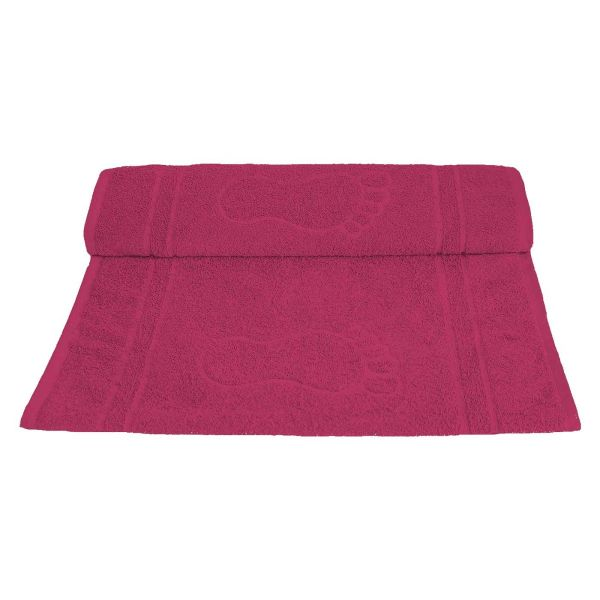 Toalha de Piso Pegada 45x70  Pink Camesa