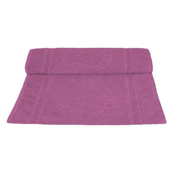 Toalha de Piso Pegada 45x70 Rosa Camesa