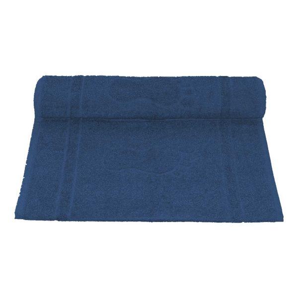 Toalha de Piso Pegada 45x70  Azul Camesa
