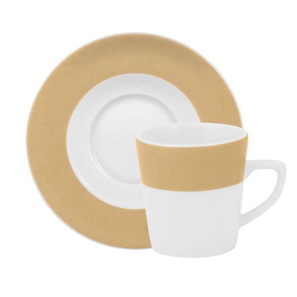 Xicara Chá Com Pires Cappuccino 20cm  Cappuccino Schmidt