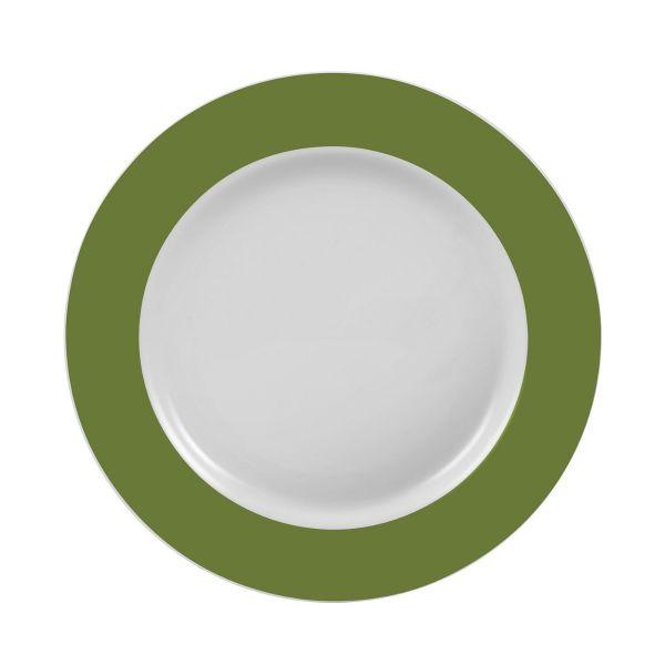 Prato Sobremesa Militar 19cm  Verde Escuro Schmidt
